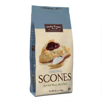 Sticky Fingers Bakeries Original Scone Mix, Set of 6